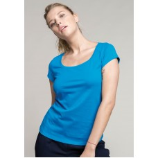 Boat Neck T-Shirt Dames