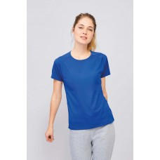 Sporty T-Shirt Heren + Dames Polyester